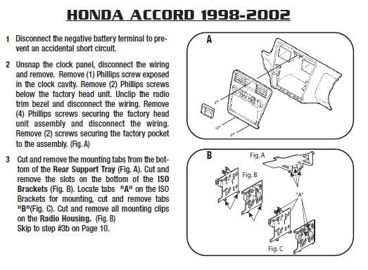 1992 Honda Accord Stereo Wiring Diagram - Somurich