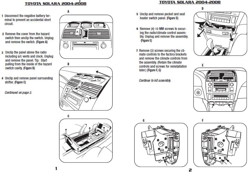 2004 Toyota Avalon Radio Diagram Wiring Schematic Diagram
