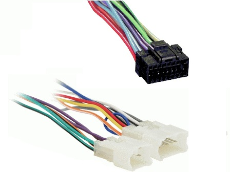 Car Stereo Wire Harnesses - Radio Wires for all Car Audio - Wiring