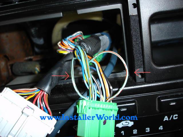 96-98 Honda Civic Radio Removal