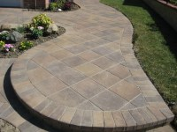 Lovely Concrete Paver Patio Design Ideas - Patio Design #272