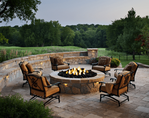 Outdoor Patio Ideas With Rattan Furniture Sets And Fire Pit Patio Furniture Images: Rattan Patio Furniture Images