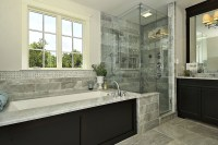 45 Stunning Transitional Bathroom Design Ideas To Make ...