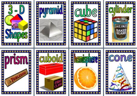 KS2 Maths Resource 3D Shapes