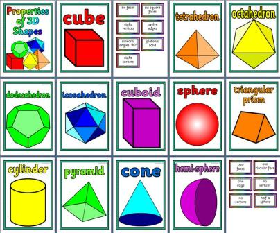 19 PRINTABLE WORKSHEETS 3D SHAPES KS1