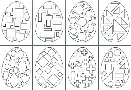 Free Printable Easter Teaching Resources, including Easter colouring