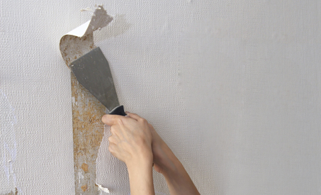 3 Tricks To Remove Wallpaper - International Institute Of Home Staging