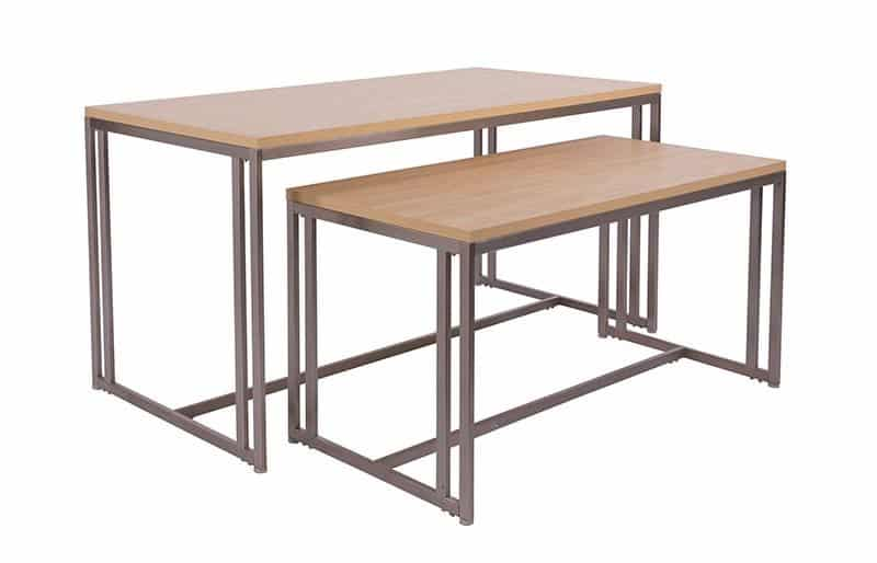 Boutique Nesting Tables InStore Design Display Retail Fixtures