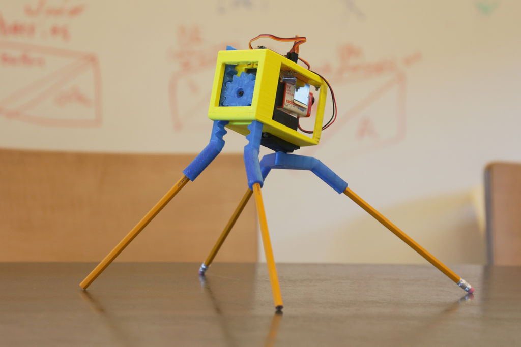 3D Printed Robot 16 Steps (with Pictures)