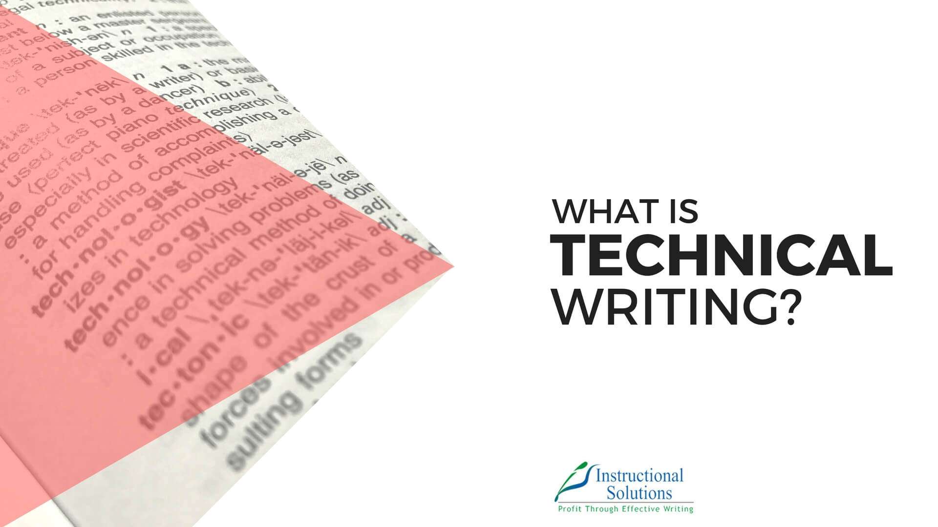 What is Technical Writing? New Definition for 2018