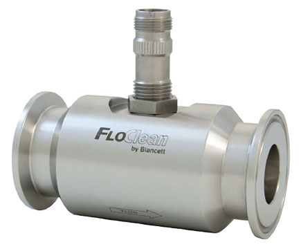 Blancett FloClean Turbine Flow Meter