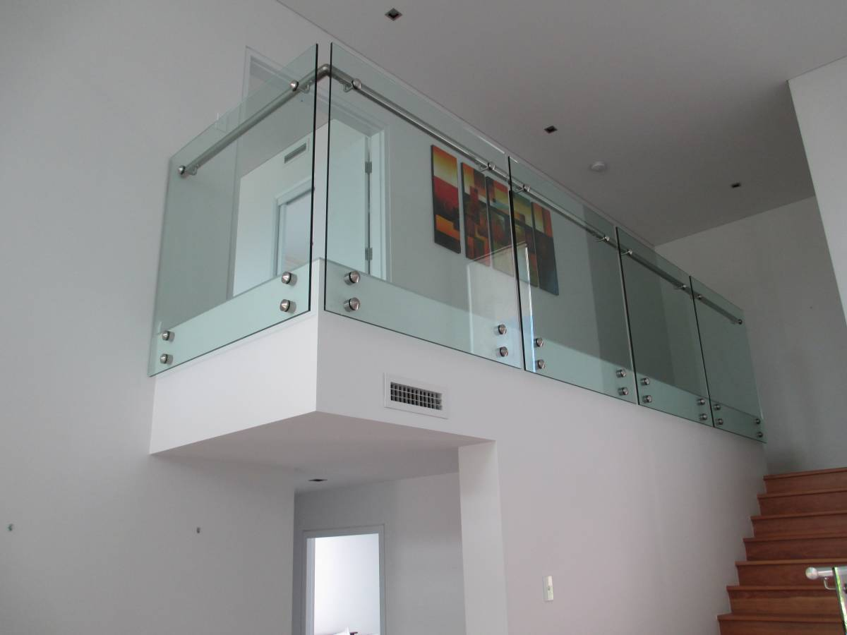 Stand Off Glass Balustrade Gold Coast