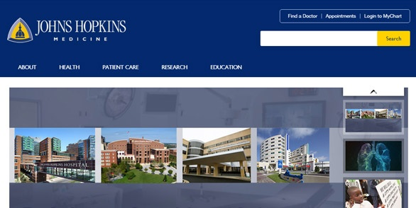 12 Best Hospital and Healthcare Websites