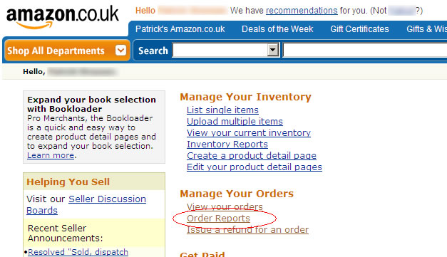 Using Integrated label invoice paper with Amazon
