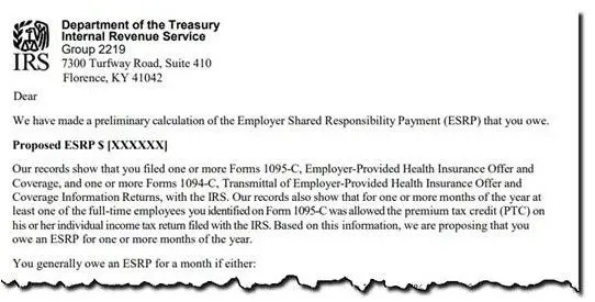 Have you received an ACA \u201clove letter\u201d from the IRS?