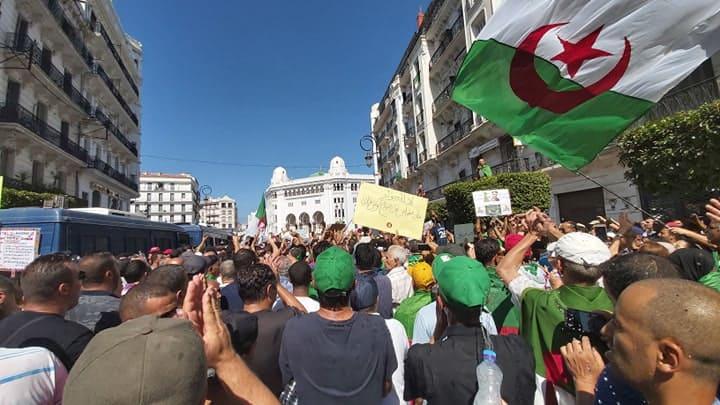 Les manifestants pro-élection se mobilisent aussi — Algérie