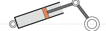 Figure 21. The slider-crank mechanism in prototype