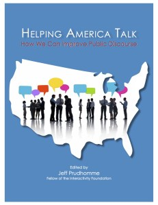 Helping America talk cover page