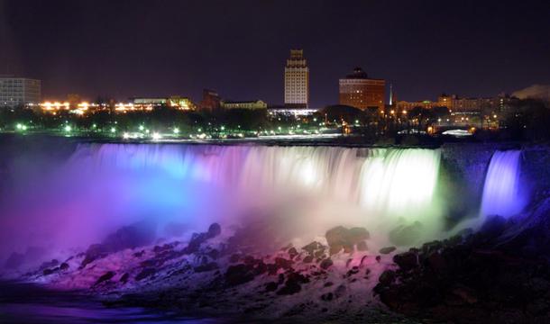 Niagara Falls At Night Wallpaper Hd Wodospad Niagara Przewodnik Po Stanach Zjednoczonych