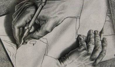 Escher_Drawing Hands