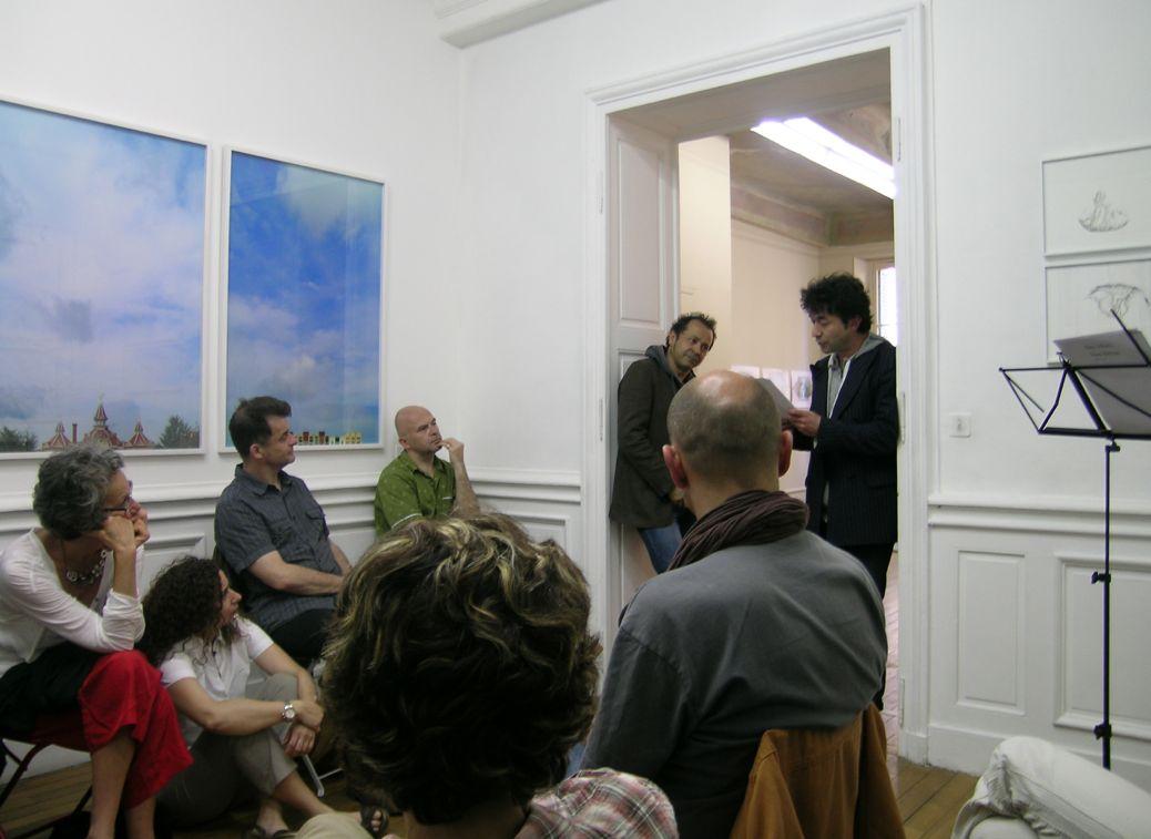JUSTE A COTE... // Cycle de lectures publiques 2012