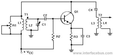 tuned base oscillator