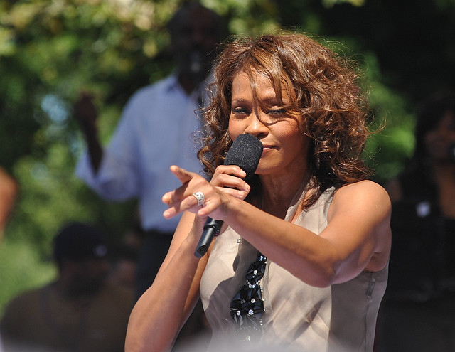 Whitney Houston death tweets - a hashtag story