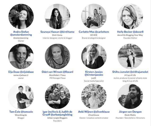 Meet The Blogger Amsterdam 2016 speakers