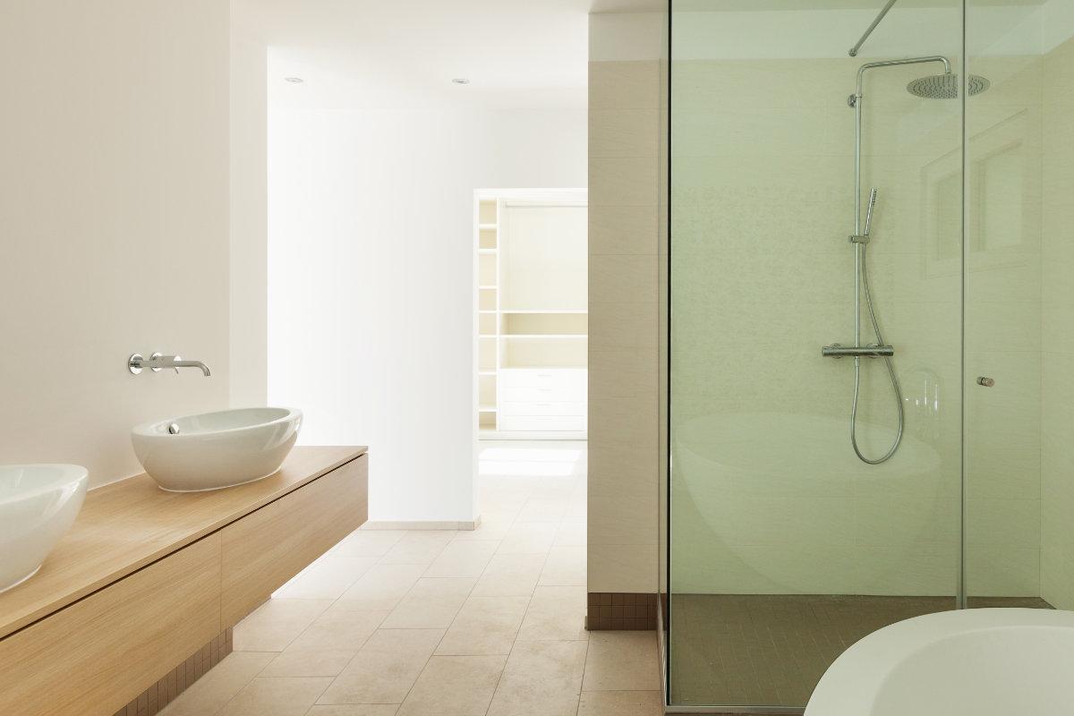 Comfortable awesome badkamer ideeen inloopdouche met onderhoud