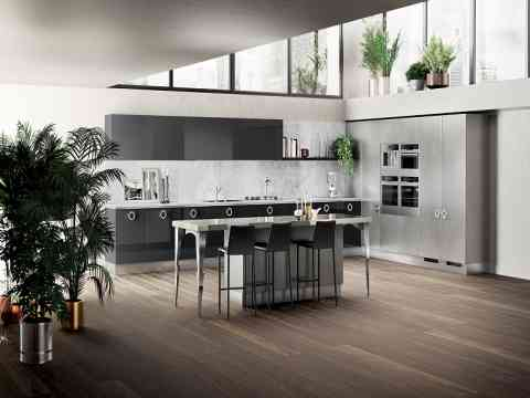 Modern Italian Kitchen Cabinet Design Idea Id498 Modern Italian Style  Kitchen Designs