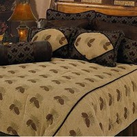 Pine Cone Comforter Set - InteriorDecorating