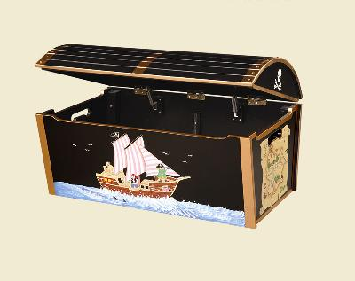 Pirate Treasure Chest Toy Box Interiordecorating