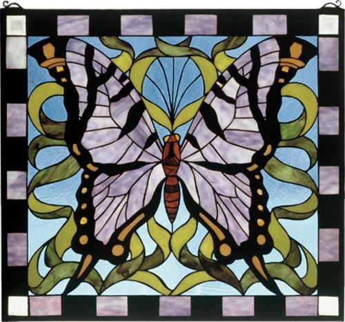 Medium Of Stained Glass Butterfly