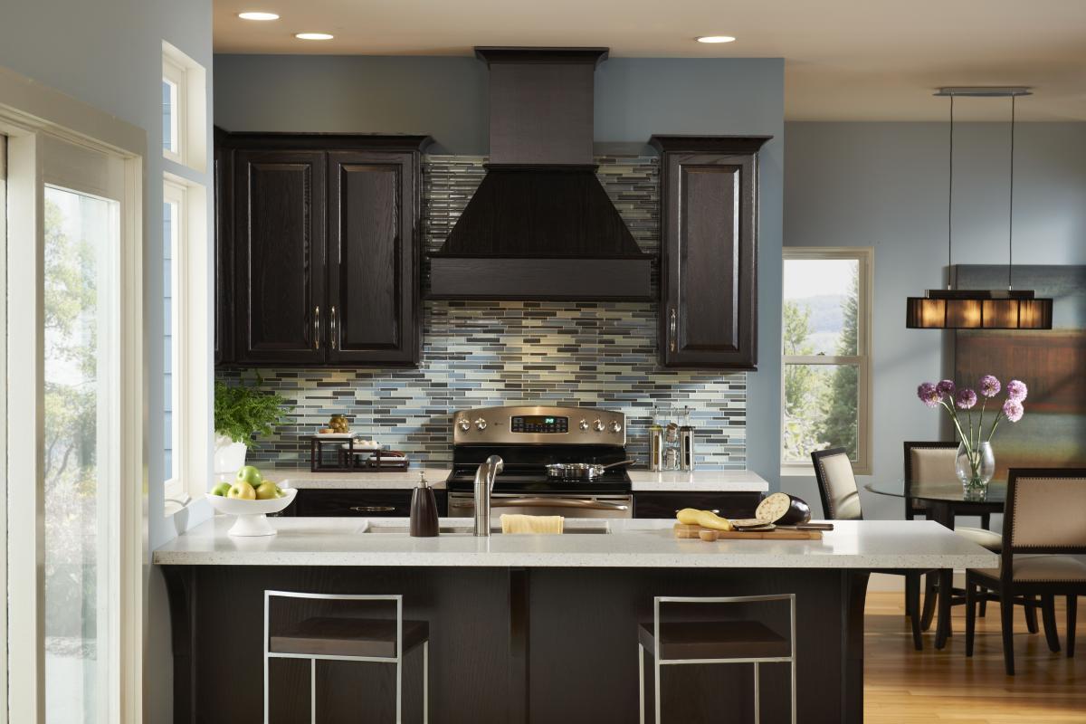 chocolate brown kitchen cabinets brown kitchen cabinets Design Chocolate Kitchen Cabinets Dark