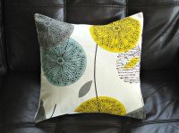 Yellow and Teal Pillow- The new Trend | | Interior ...