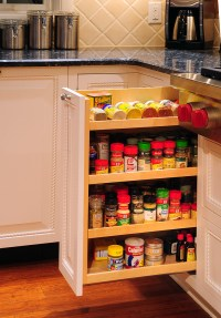 Why Your Kitchen Needs a Spice Cabinet  Interior ...