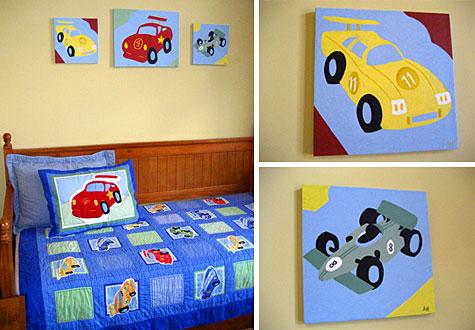 Wall Art For Children Interior Designing Ideas