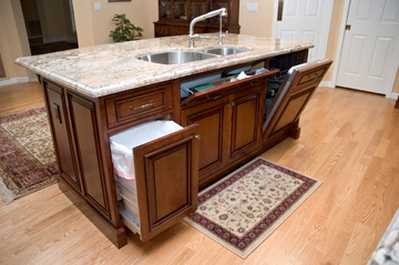 Compact And High Function Kitchen Island