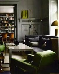 10 Stylish Dark Living Room Interior Design Ideas - https ...