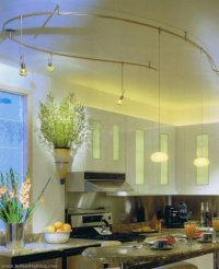Stylish Kitchen Lighting Ideas: Track Lighting - Interior ...