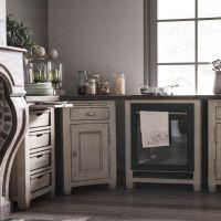 Meuble de cuisine 4 bacs - Beige - Interior's