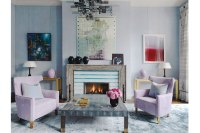 Contemporary Pastel Living Room - Interiors By Color