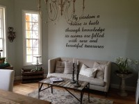Walls in Sherwin Williams Silver Strand - Interiors By Color