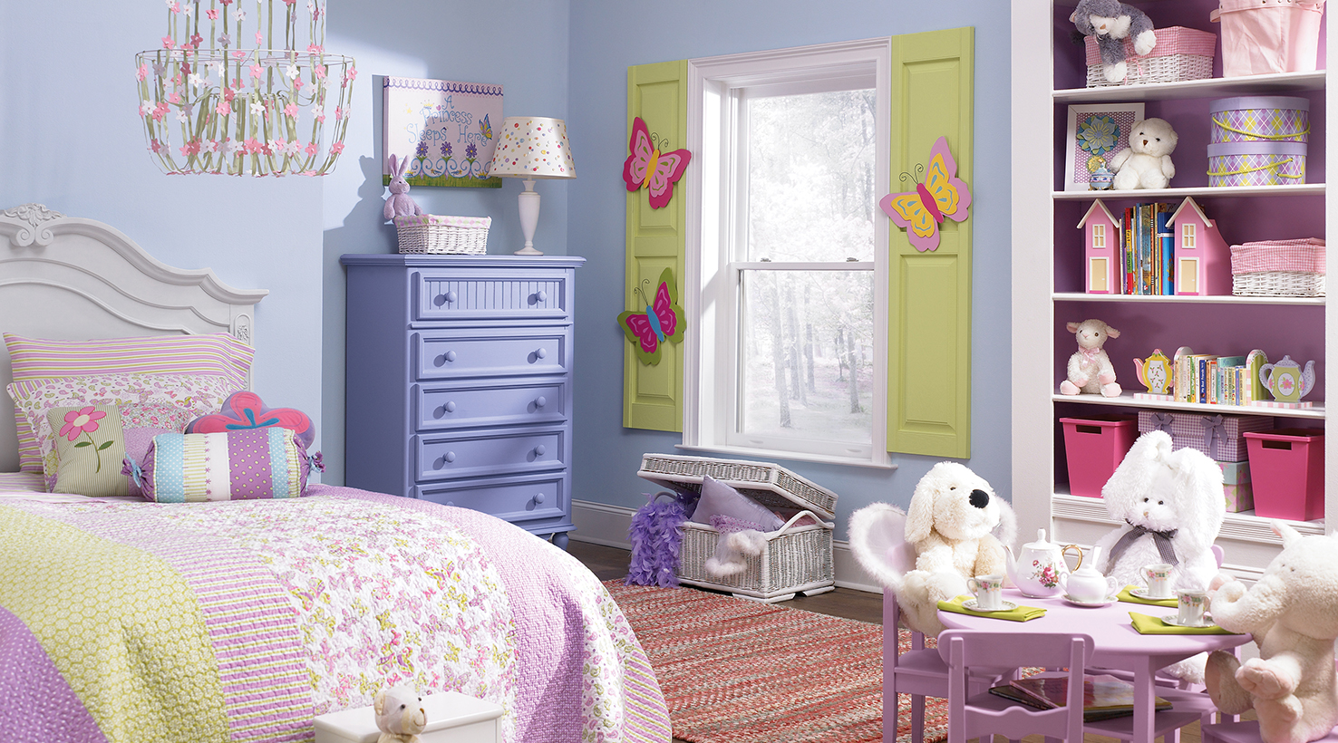 Pinterest Girls Kids Rooms With Wood Wallpaper Girls Room In Pastel Pink Purple And Green Interiors By