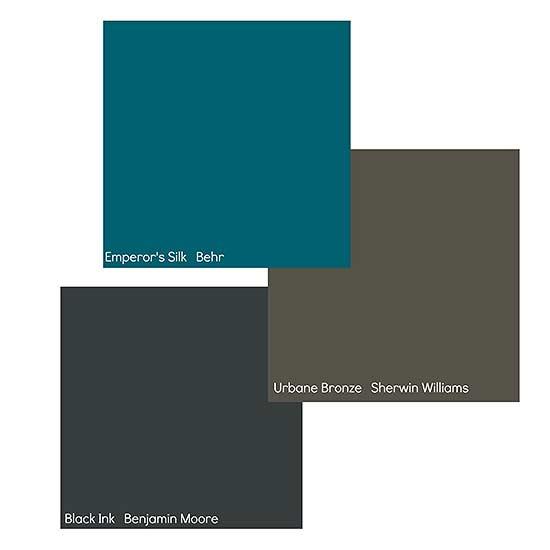 urbane bronze color palette