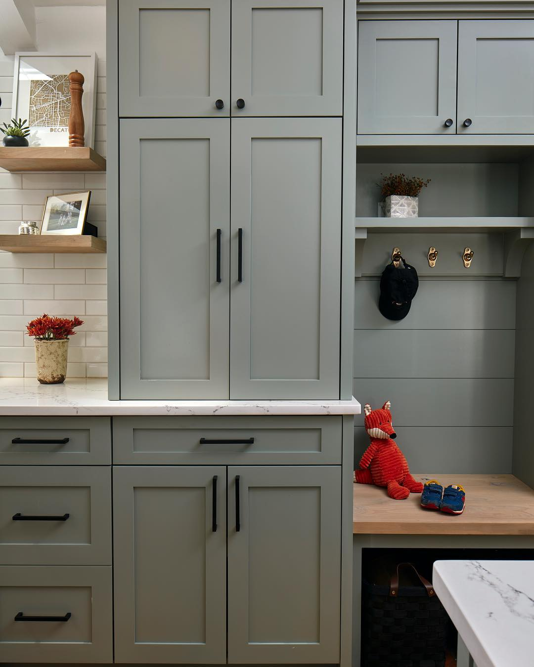 Farrow Ball Pigeon Kitchen Cabinets Interiors By Color