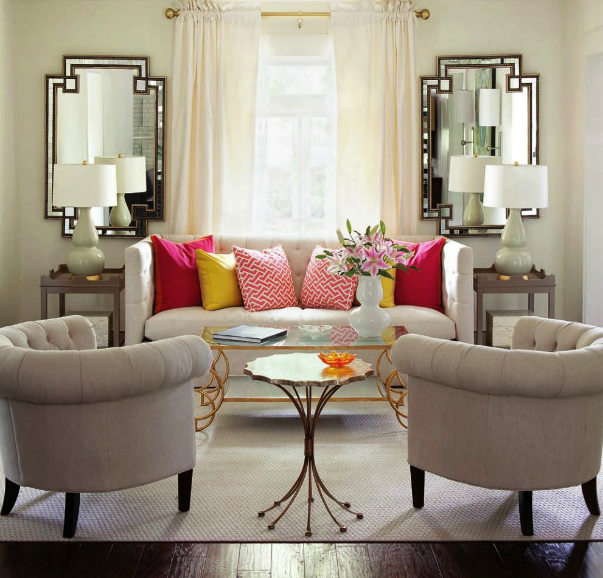 how to add color to a room image credit laurie mcfarland designs - How To Add Color To A Room