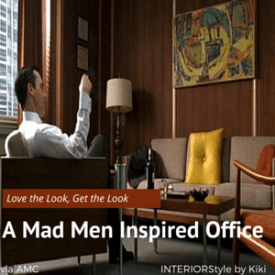 mad men inspired office