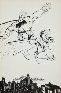 $100k appraisal for single page of original art Frank Miller's Dark Knight comic book