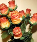 Bacon Rose Bouquet Looks Delicious